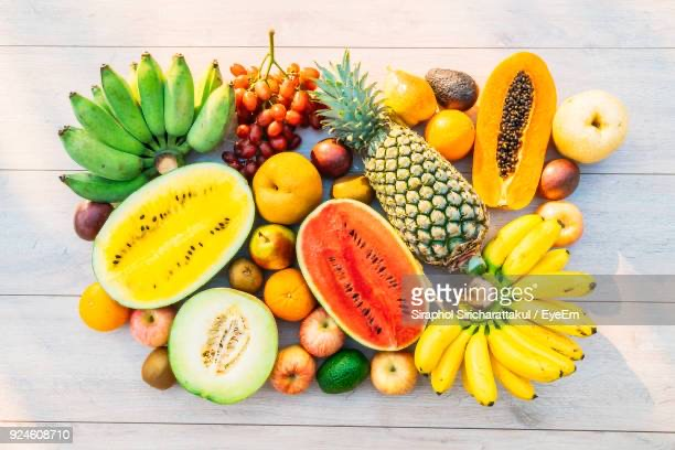 Fruit types and their nutritional benefits
